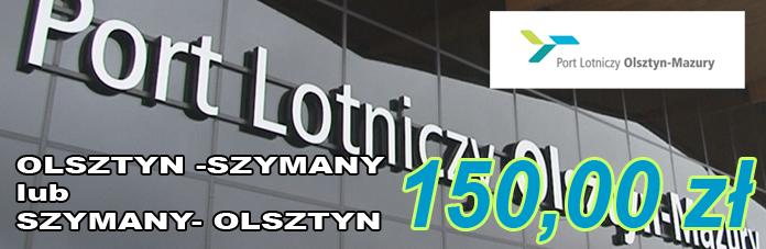 Transfer na lotnisko Olsztyn-Mazury